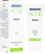 Fragrances, Perfumes, Cosmetics Matte Face Mask - Novaclear Acne Mask