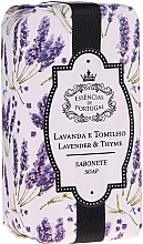 Fragrances, Perfumes, Cosmetics Natural Lavender & Thyme Soap - Essencias De Portugal Natura Lavander&Thyme Soap