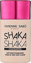 Fragrances, Perfumes, Cosmetics Soft Blur Foundation - Vivienne Sabo Natural Cover Shaka Shaka Foundation (01)
