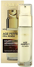 Fragrances, Perfumes, Cosmetics Renewal Face Serum - L'Oreal Paris Age Perfect Cell Renew Serum