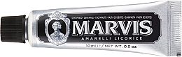 Fragrances, Perfumes, Cosmetics Toothpaste - Marvis Dentif Amarelli Licorice (mini size)