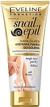 Fragrances, Perfumes, Cosmetics Moisturizing Shaving Creamy Mask - Eveline Cosmetics Snail Epil