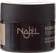 Fragrances, Perfumes, Cosmetics Lip Balm with Cocoa Butter - Najel Cocoa Lip Balm