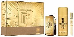 Paco Rabanne 1 Million Parfum - Set (parfum/50ml + deo/150ml+parfum/mini/10ml) — photo N1