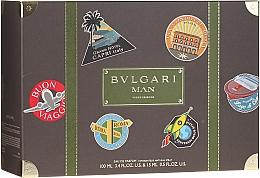 Fragrances, Perfumes, Cosmetics Bvlgari Man Wood Essence - Set (edp/100ml + edp/15ml)