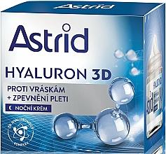 Fragrances, Perfumes, Cosmetics Night Face Cream - Astrid Hyaluron 3D