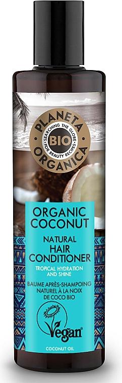 Moisturizing Hair Balm - Planeta Organica Organic Coconut Natural Hair Conditioner