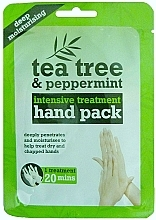 Fragrances, Perfumes, Cosmetics Hand Gloves Mask - Xpel Marketing Ltd Tea Tree & Peppermint Deep Moisturising Hand Pack