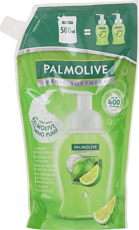 Foaming Hand Soap - Palmolive Magic Softness Foaming Handwash Lime & Mint (doypack)
