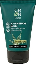 Fragrances, Perfumes, Cosmetics After-Shave Balm - GRN Gentlemen's Organic Hemp & Hop After-Shave Balm