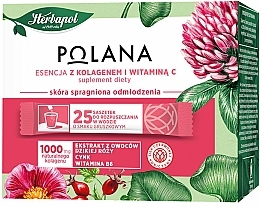 "Fragrances, Perfumes, Cosmetics Dietary Supplement ""Essence With Collagen & Vitamin C"" - Polana"