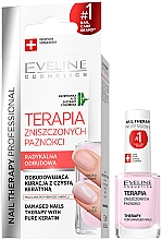Fragrances, Perfumes, Cosmetics Nail Conditioner - Eveline Cosmetics Nail Therapy Professional Therapy For Damage Nails