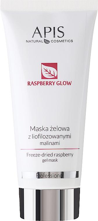 Freeze-Dried Raspberry Gel Face Mask - Apis Professional Raspberry Glow Freeze-Dried Rasberry Gel Mask