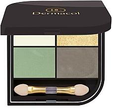 Fragrances, Perfumes, Cosmetics Eyeshadow - Dermacol Quatro Eyeshadow