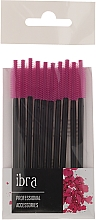 Fragrances, Perfumes, Cosmetics Eyebrow & Eyelash Brush 10 pcs, purple - Ibra