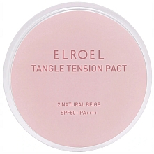 Fragrances, Perfumes, Cosmetics Mattifying Foundation for Oily Skin - Elroel Tangle Tension Pact SPF 50+/PA ++++