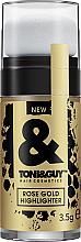 Fragrances, Perfumes, Cosmetics Hair Highlighter - Toni&Guy Rose Gold Highlighter