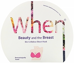 Fragrances, Perfumes, Cosmetics Bioc-Cellulose & Firming Breast Mask - When Beauty And The Breast Bio-Cellulose Mask