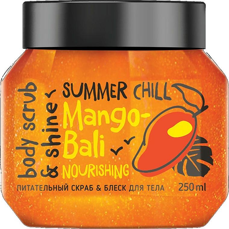 Nourishing Body Scrub & Shine - MonoLove Bio Mango-Bali Nourishing