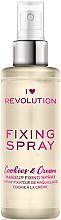 Fragrances, Perfumes, Cosmetics Makeup Fixing Spray - I Heart Revolution Fixing Spray Cookies & Cream