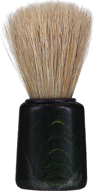 Shaving Brush, dark green - Inter-Vion — photo N1