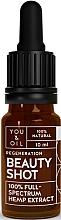 Fragrances, Perfumes, Cosmetics Regenerating Face Serum - You & Oil Beauty Shot Hemp Extract