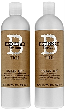 Fragrances, Perfumes, Cosmetics Set - Tigi Bed Head Clean Up (sh/750ml + cond/750ml)