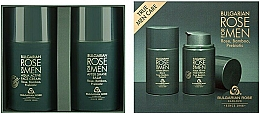 Fragrances, Perfumes, Cosmetics Set - Bulgarian Rose For Men (f/cr/50ml + ash/balm/50ml)