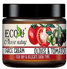 "Fragrances, Perfumes, Cosmetics Face Cream ""Tomato & Olive"" - Eco U Face Cream"