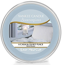 Fragrances, Perfumes, Cosmetics Scented Wax - Yankee Candle A Calm & Quiet Place Scenterpiece Melt Cup