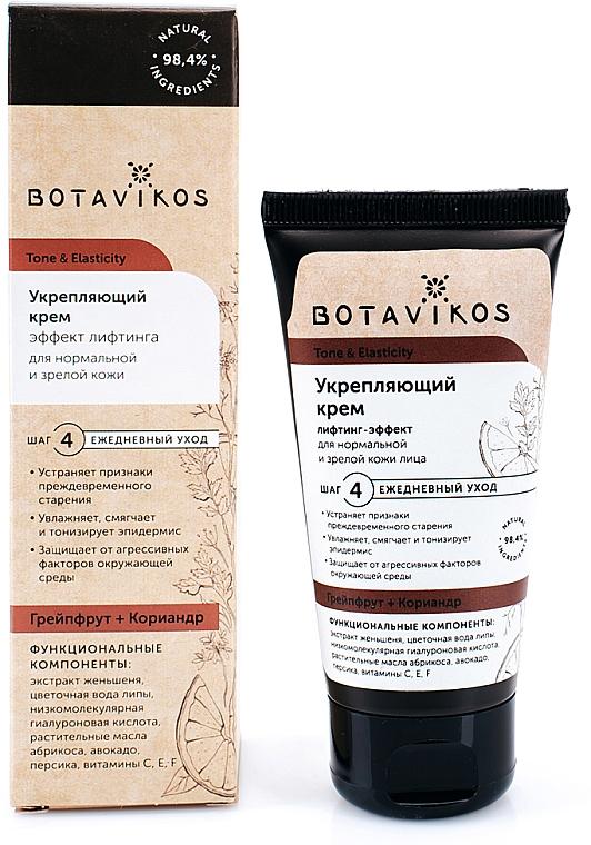 """Firming Normal & Mature Skin Face Cream """"Tone & Elasticity"""" - Botavikos Tone And Elasticity Firming Cream"""