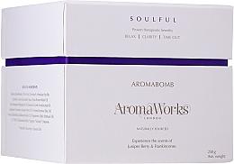 "Fragrances, Perfumes, Cosmetics Bath Bomb ""Soulful"" - AromaWorks Soulful AromaBomb Single"
