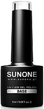 Fragrances, Perfumes, Cosmetics Gel Polish Base Coat - Sanone Gel Polish Base