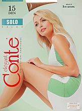 "Fragrances, Perfumes, Cosmetics Tights ""Solo"" 15 Den, natural - Conte"