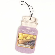 "Fragrances, Perfumes, Cosmetics Air Freshener ""Lemon with Lavender"" - Yankee Candle Fluffy Lemon Lavender 2D Jar Classic"