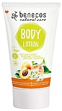 Fragrances, Perfumes, Cosmetics Apricot and Elderberry Blossom Body Lotion - Benecos Natural Care Apricot & Elderberry Blossom Body Lotion
