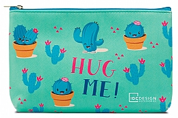 Fragrances, Perfumes, Cosmetics Makeup Bag with Pattern, turquoise - IDC Design Accessories Cosmetig Bag