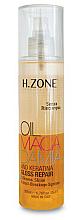 Fragrances, Perfumes, Cosmetics Shine Hair Oil - H.Zone Macadamia-Gloss Repair