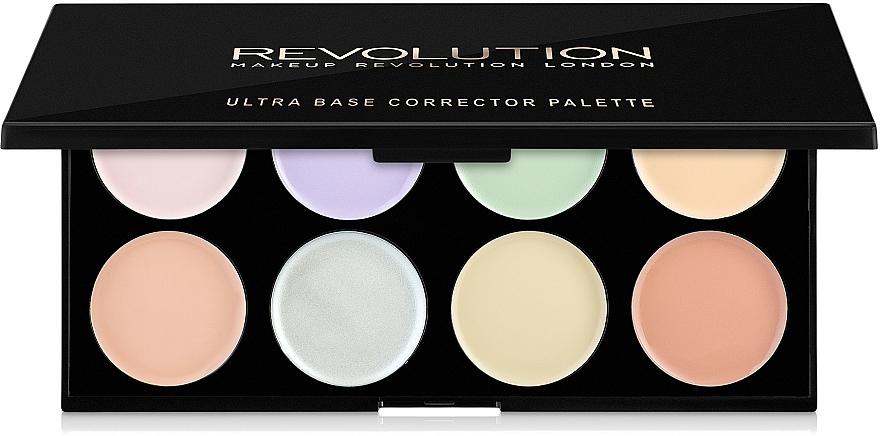Correcting Palette - Makeup Revolution Ultra Base Corrector Palette
