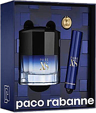Fragrances, Perfumes, Cosmetics Paco Rabanne Pure XS - Set (edt/50ml + edt/mini/10ml)