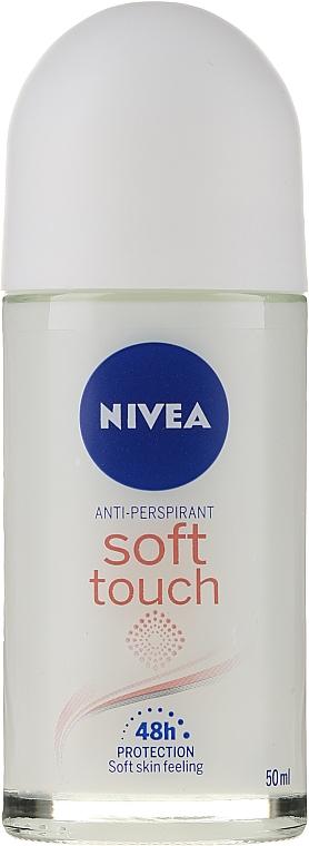 Deodorant - Nivea Women Roll-On Soft Touch