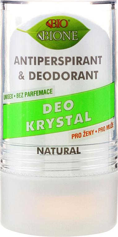 Deodorant - Bione Cosmetics Deo Krystal Antiperspirant&Deodorant