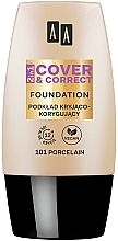 Fragrances, Perfumes, Cosmetics Foundation 2 in 1 - AA 2in1 Cover&Correct Foundation