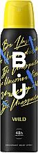 Fragrances, Perfumes, Cosmetics B.U. Wild - Deodorant