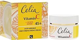 Fragrances, Perfumes, Cosmetics Firming Day & Night Cream 45+ - Celia Witamina C