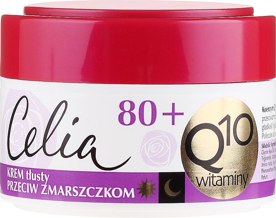 """Rich Anti-Wrinkle Cream """"Vitamin"""" - Celia Q10 Face Cream 80+"""