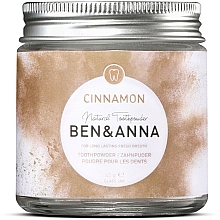 Fragrances, Perfumes, Cosmetics Toothpowder with Cinnamon - Ben & Anna Toothpowder Cinnamon