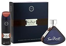 Fragrances, Perfumes, Cosmetics Armaf Tres Nuit - Set (edp/100ml + deo/spray/200ml)