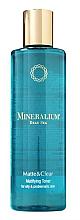 Fragrances, Perfumes, Cosmetics Oily Skin Energizing & Mattifying Toner - Minerallium Matifying Toner