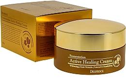 Fragrances, Perfumes, Cosmetics Nourishing Active Oxygen Bubble Face Cream - Deoproce Fermentation Active Healing Cream